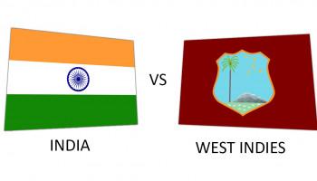 Crictime Scorecard India vs West Indies 2019
